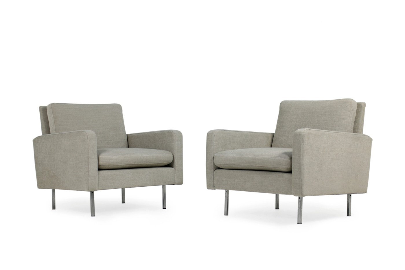 Knoll International Sessel Pair Of 1960s Florence Knoll Chairs Model 25 Bc Knoll International