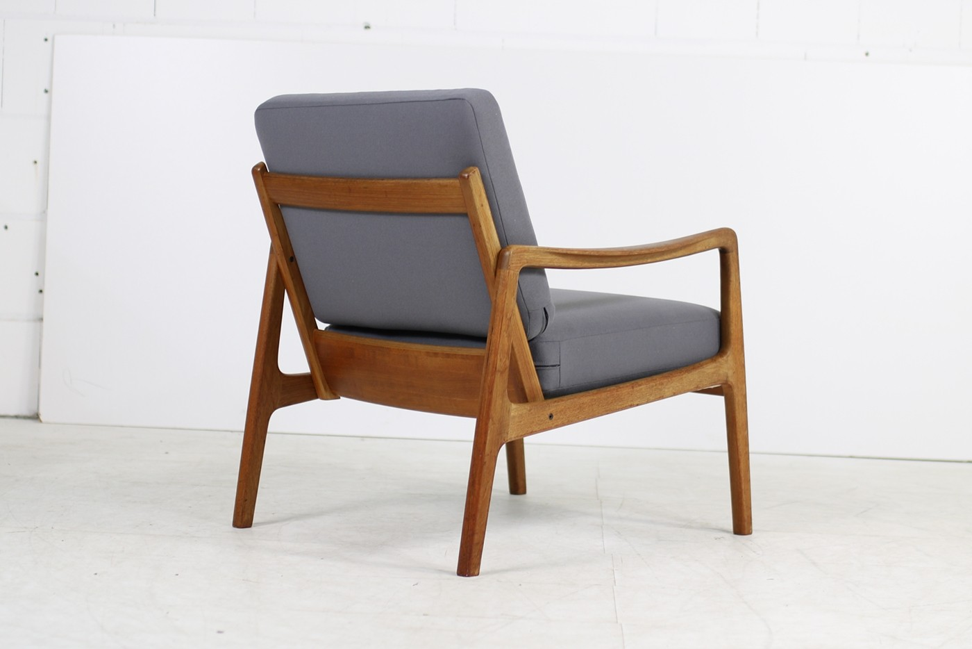 Teak Sessel 1960s Ole Wanscher Teak Easy Chair Mod 109 France Son