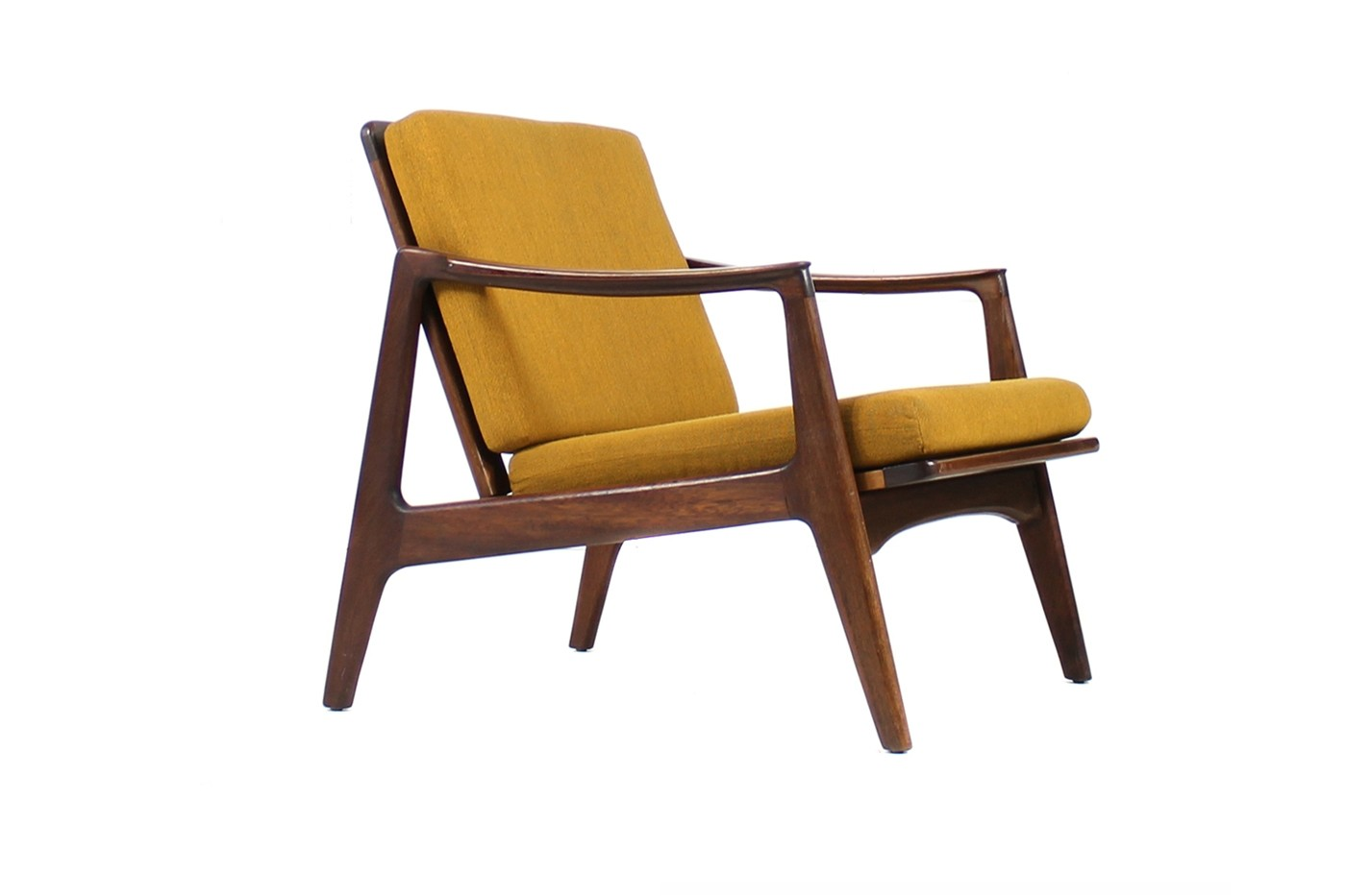 Beautiful 1960s Teak Easy Chair Mid Century Modern Design Objects