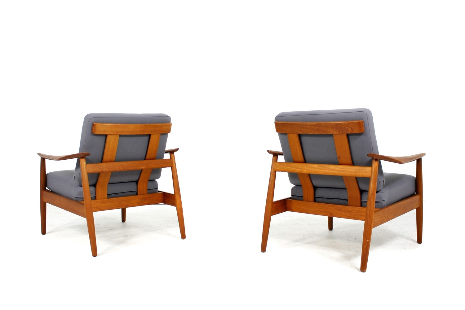 Arne Vodder Sessel Pair Of 1960s Arne Vodder Teak Easy Chairs Mod 164 Danish Modern
