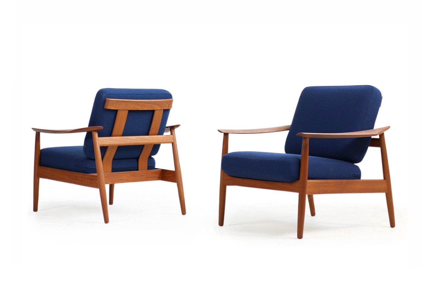 Arne Vodder Sessel Arne Vodder 1960s Teak Easy Chairs Mod 164 Danish Modern Design