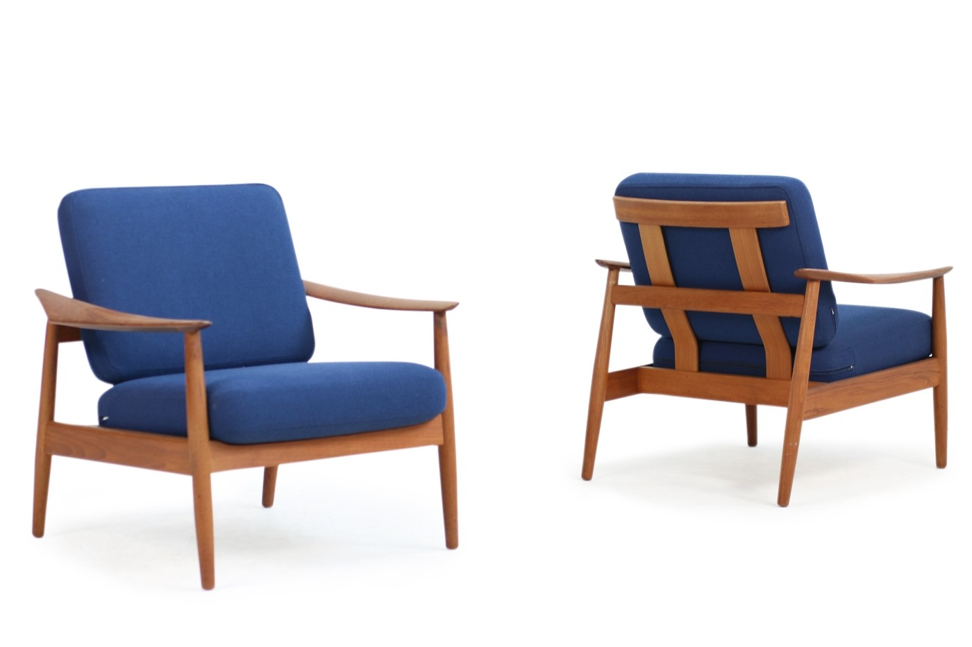 Teak Sessel Danish Arne Vodder 1960s Teak Easy Chairs Mod. 164 Danish Modern