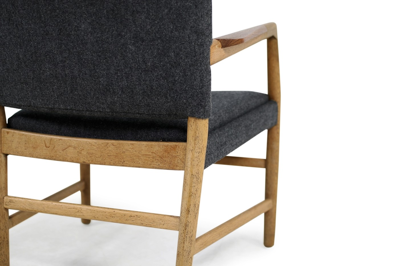 Aarhus Sessel 1950s Hans J Wegner Town Hall Chair Oak Teak Danish Modern