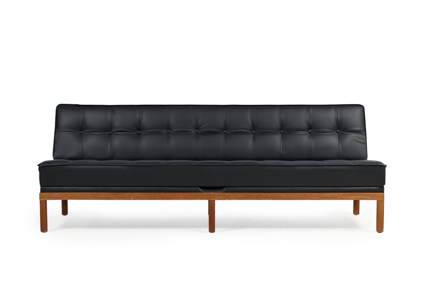 Sofa 60er Johannes Spalt For Wittmann Daybed Mod Constanze Teak Leather