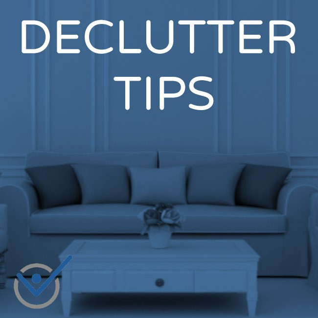 Aufräumhilfe Declutter Organize Tips - How To Live With Less And Be Happy