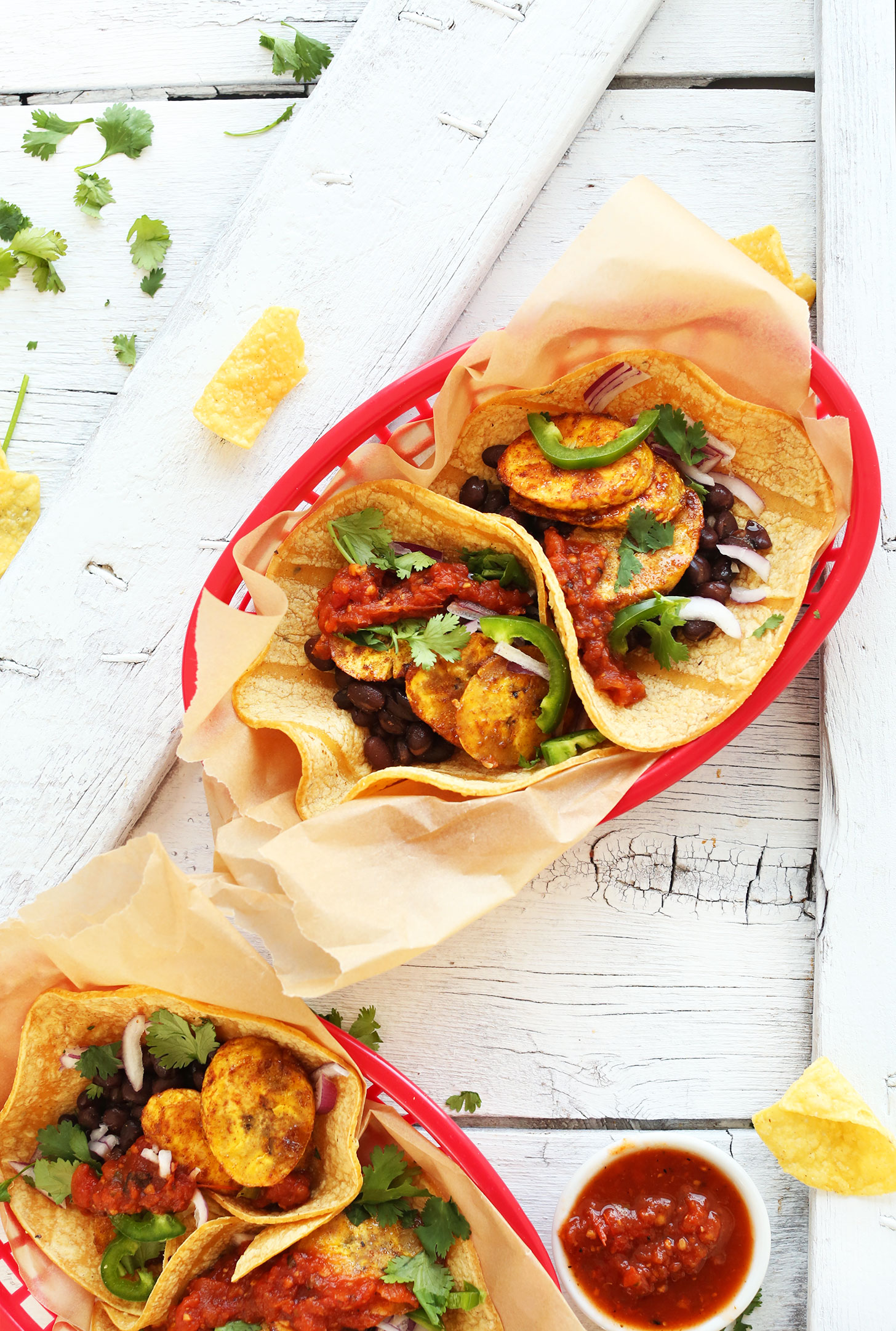 Cuisiner Le Plantain Spicy Plantain Black Bean Tacos