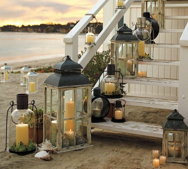 Beach House Outdoor Lighting 66 Ideas For Outdoor Lighting And Lanterns In The Garden