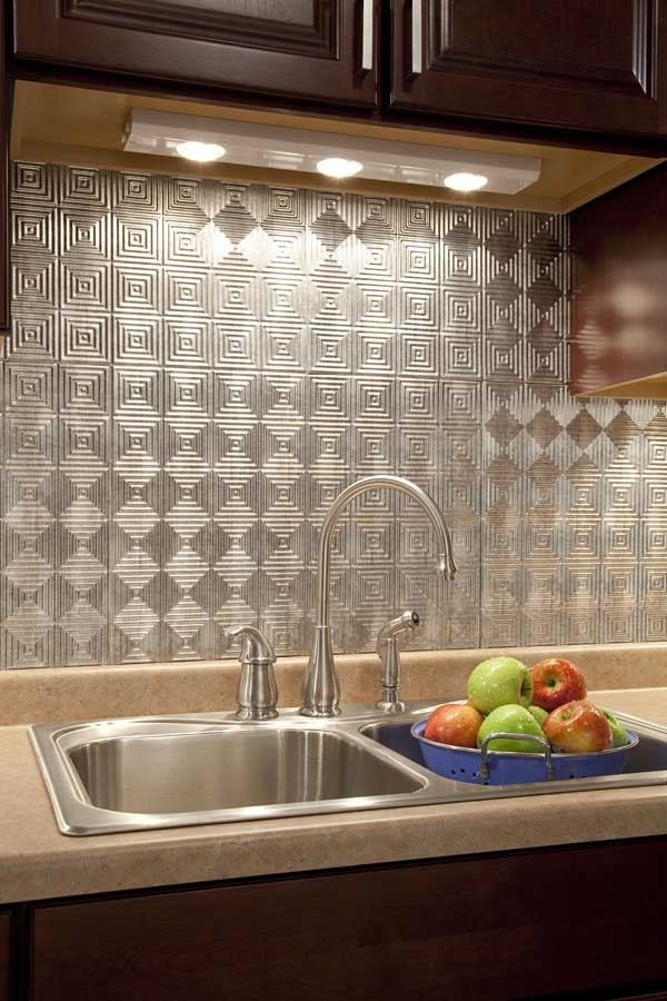 modern kitchen backsplash ideas metal tiles metal backsplash interior designs modern kitchen backsplash ideas metal tile options