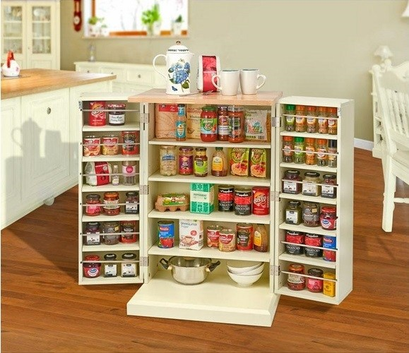 freestanding pantry cabinet kitchen cabinets ideas spice storage ideas simple kitchen cabinets store food supplies