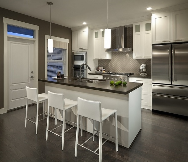 modern kitchen cabinets design trends functional design small small modern kitchen design ideas remodel pictures houzz
