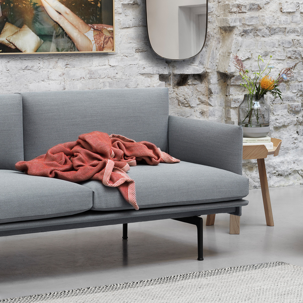 Designer Couch Outline Sofa