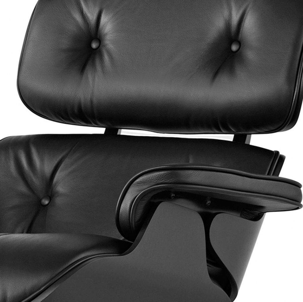 Vitra Eames Lounge Chair Black Eames Lounge Chair Black Ash