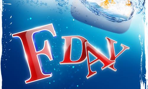 Пляжная вечеринка F-DAY — будет очень жарко