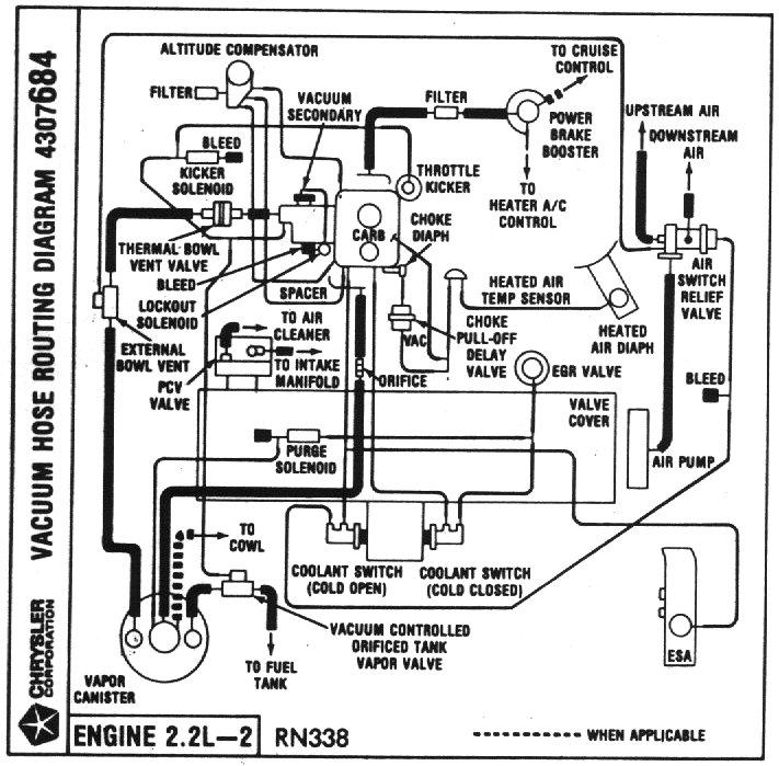 1991 mazda b2200 vacuum diagram