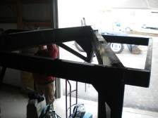 adding the welded loft area.