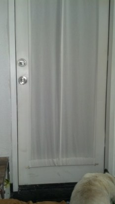 Here is the other door, its not as cool because it doesn't have the center mullion