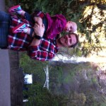 We stopped by multnomah falls on the way in