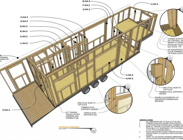Free tiny house trailer plans best free home design for Small trailer plans free