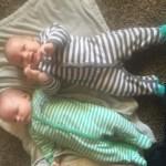 cousins, 8 days apart