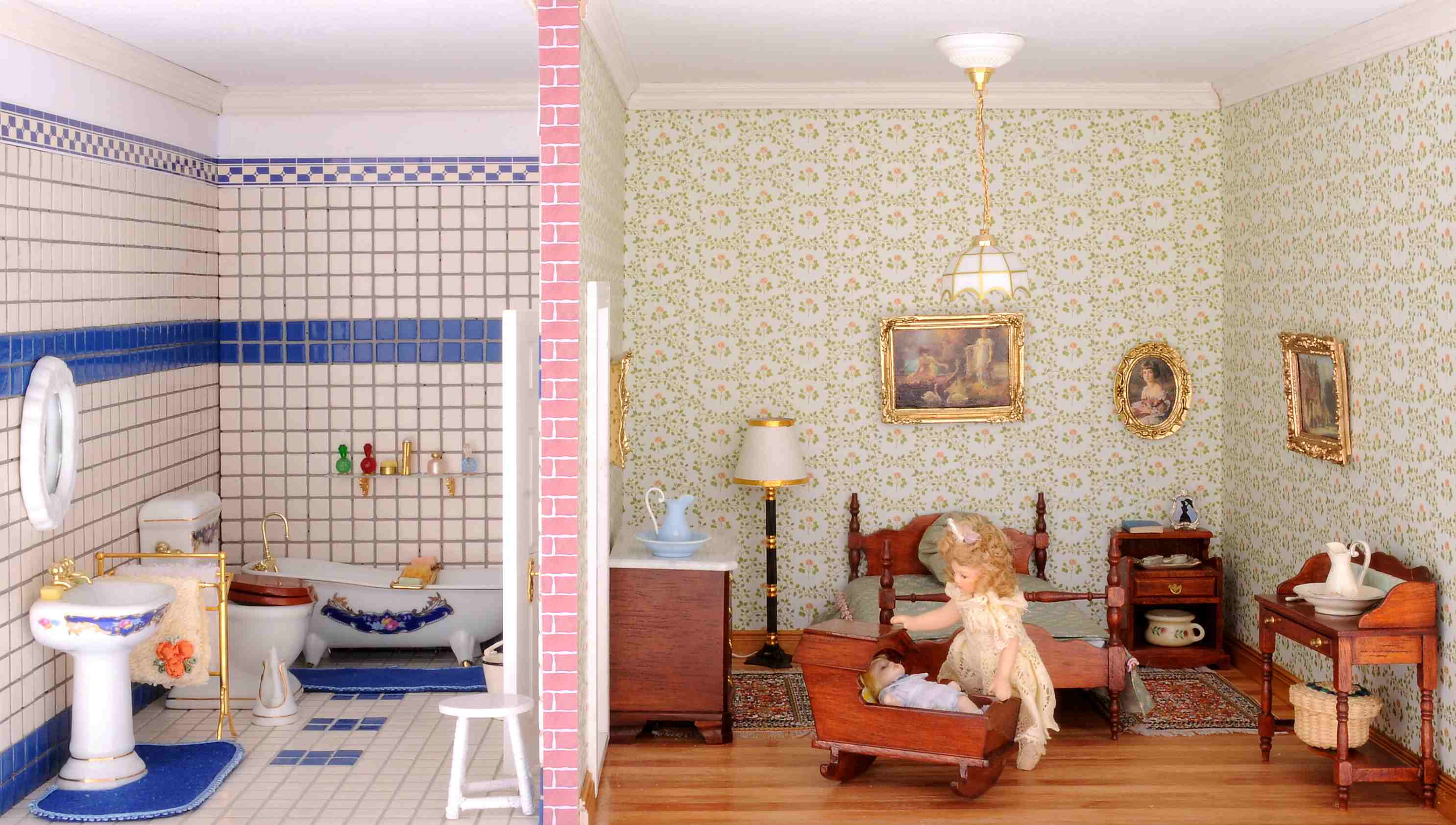 Chippendale Schlafzimmer Children S Room With Bath