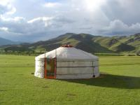 Solar-Powered Gers  Min in Mongolia