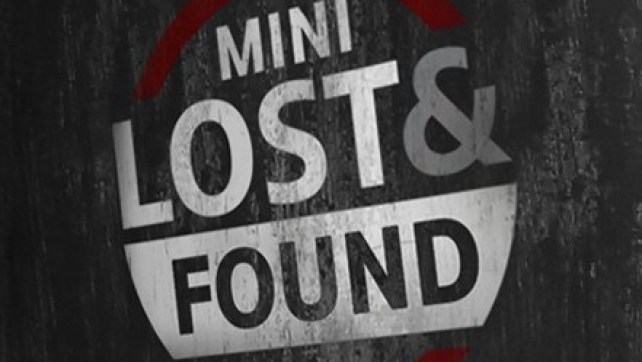 THE MINI LOST & FOUND.