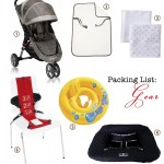 Packing for a One-Year Old (Gear, Clothes)