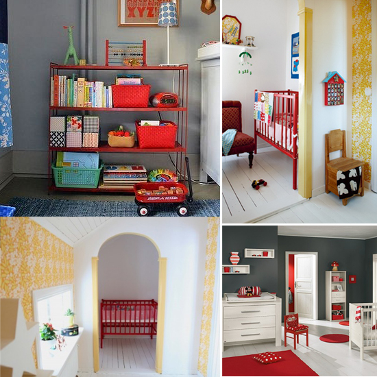 Mini Piccolini - Red Nursery Inspiration