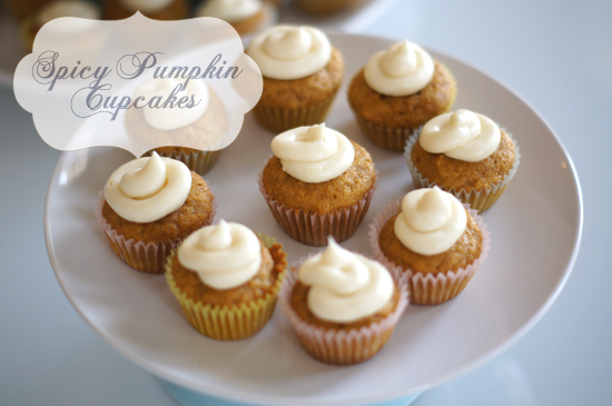 Mini Piccolini - Spicy Pumpkin Cupcakes Recipe