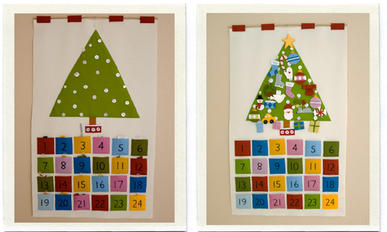 Diy Childrens Advent Calendar : Diy advent calendars