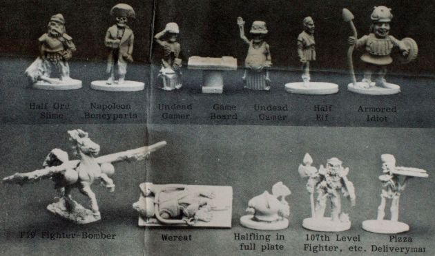 Grenadier Comedy Lords - The Minis Museum