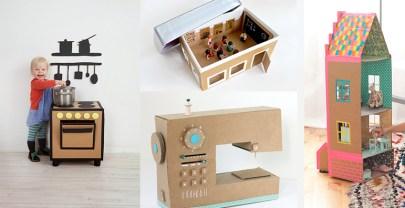 Speelgoed maken met karton | DIY