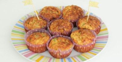 Hartige, groenten muffins met courgette | BLW