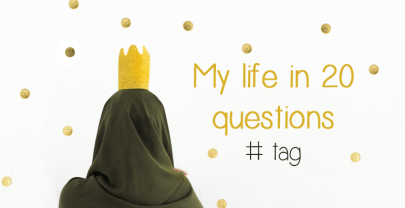 My life in 20 questions tag | mamablog