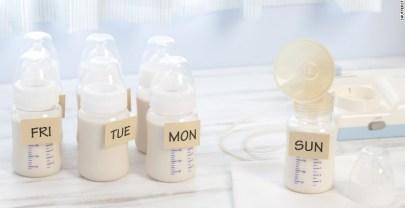 Moedermelk bewaren en gebruiken in recepten