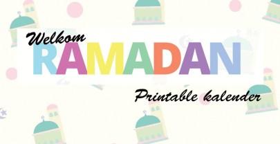 Mijn Ramadan Kalender | printable