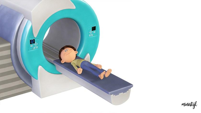 Mijn ervaring met een peuter van 2 jaar in de MRI scan