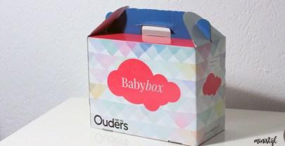 Inhoud van de Ouders van Nu – Baby Box | 2016
