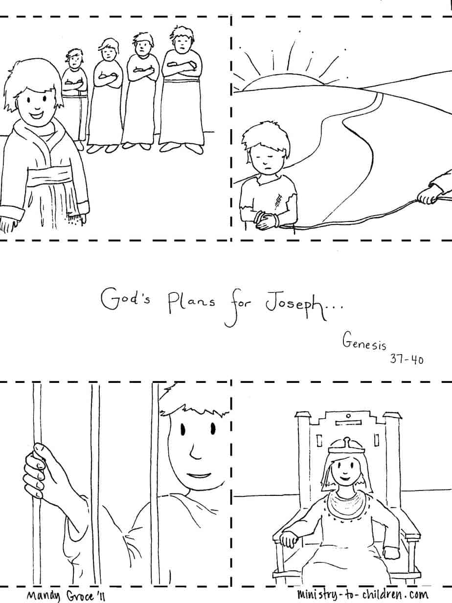 Joseph in egypt free coloring pages on art coloring pages - Printable Coloring Pages Joseph Coat First Numbered Sheet Printable Pdf Second Numbered Sheet Printable Pdf Download