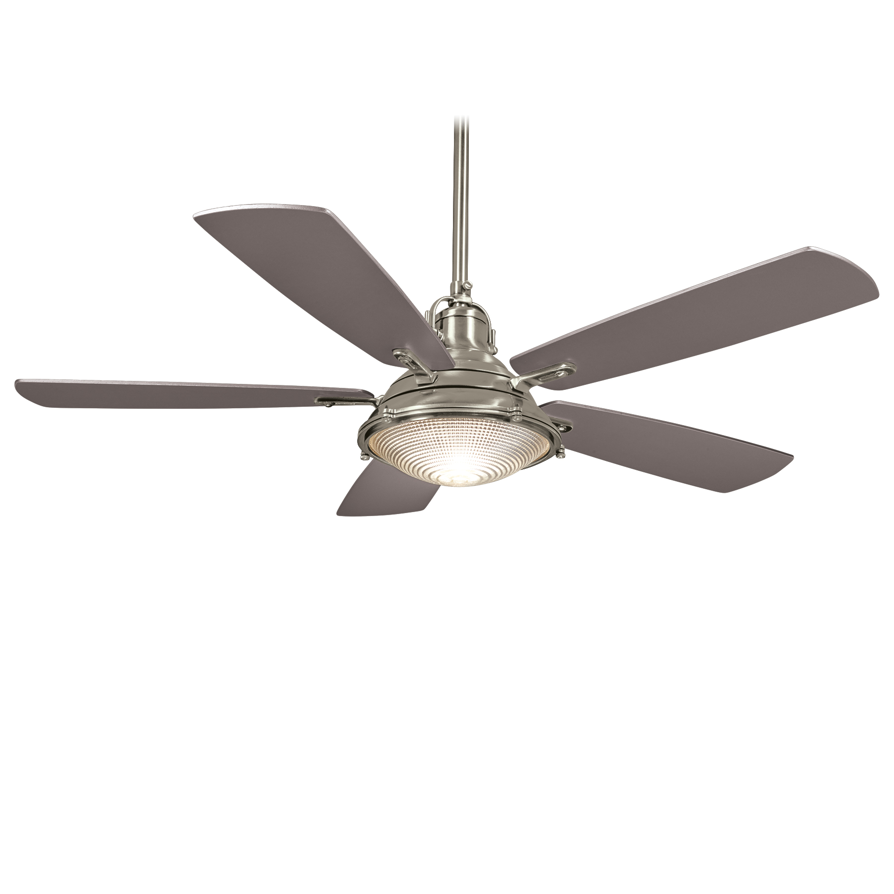 Silver Outdoor Ceiling Fans Minka Group Brands Minka Aire F681 Bnw