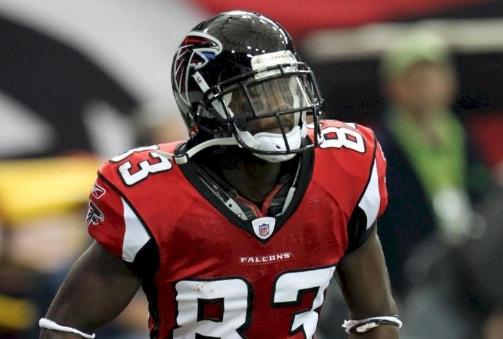 Photograph of Atlanta Falcons wide receiver Harry Douglas