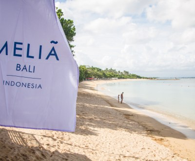 Melia Bali Flag and Beach