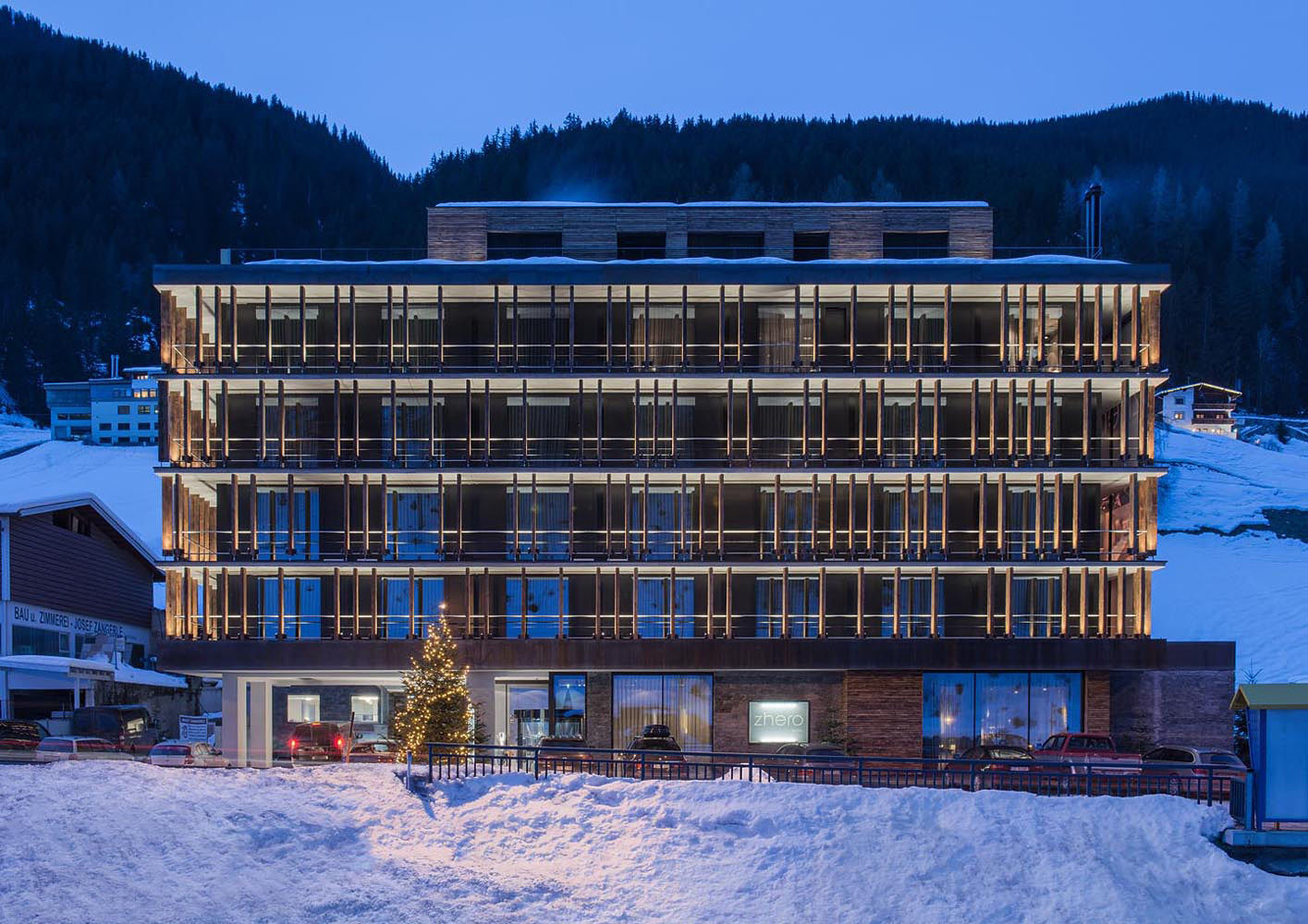 Zhero Hotel Kappl Tyrol Zhero Hotel Kappl Interiors And Contract En