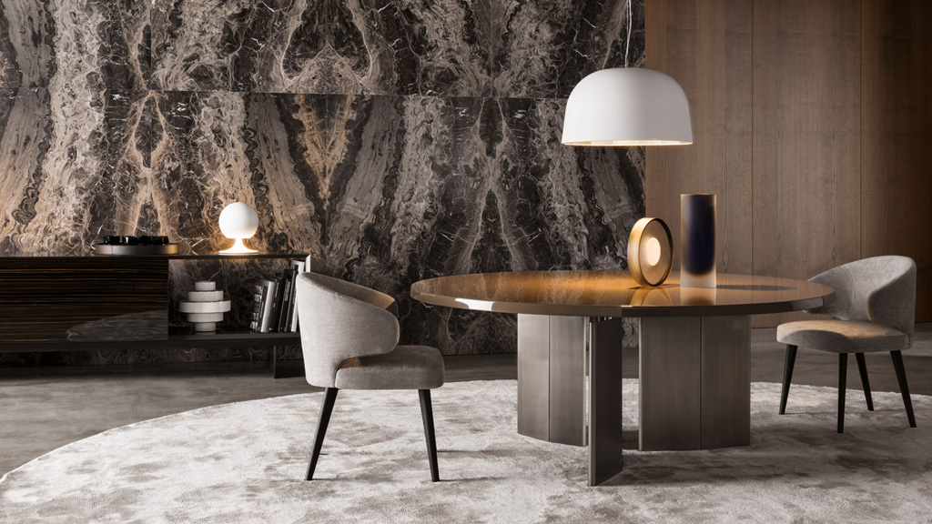Chaises Fly Minotti Chicago