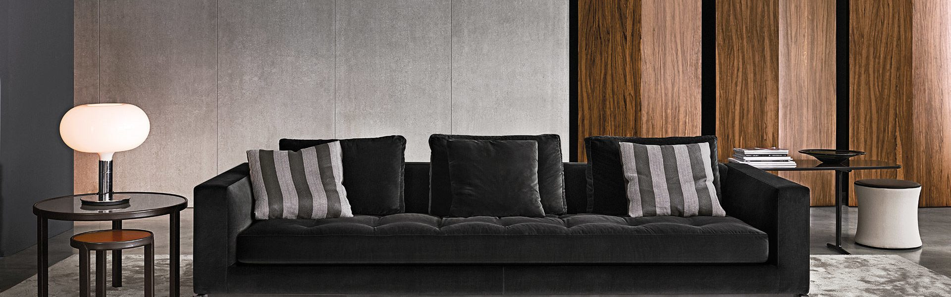 Modern Quilted Sofa Minotti London Products