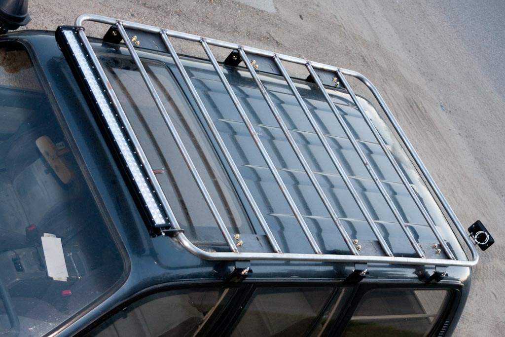 Custom Built Roof Rack Mint Design