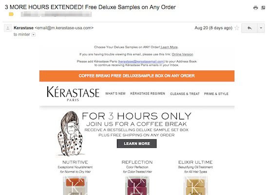 How to Make Great Email Campaigns for a Luxury Brand? -Minter Dial