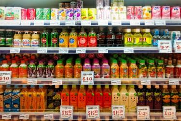 Estanteria de supermercado