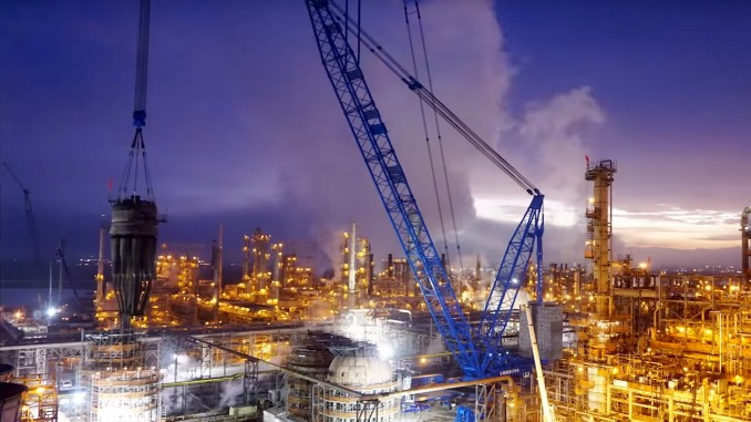 Awesome video of Lampson  Bigge at Chevron\u0027s Richmond Refinery for