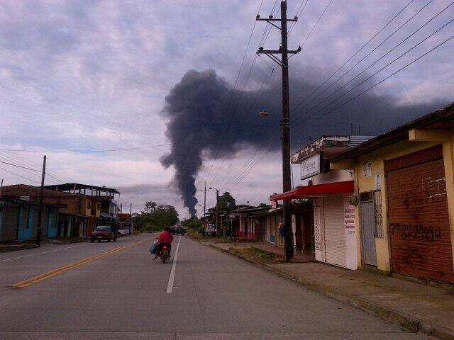 Las FARC arremeten contra la industria petrolera en Putumayo.